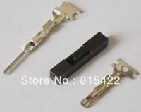 200Pcs 1P Dupont Jumper Cable Housing + 100 Female + 100 male Terminal 2.54mm