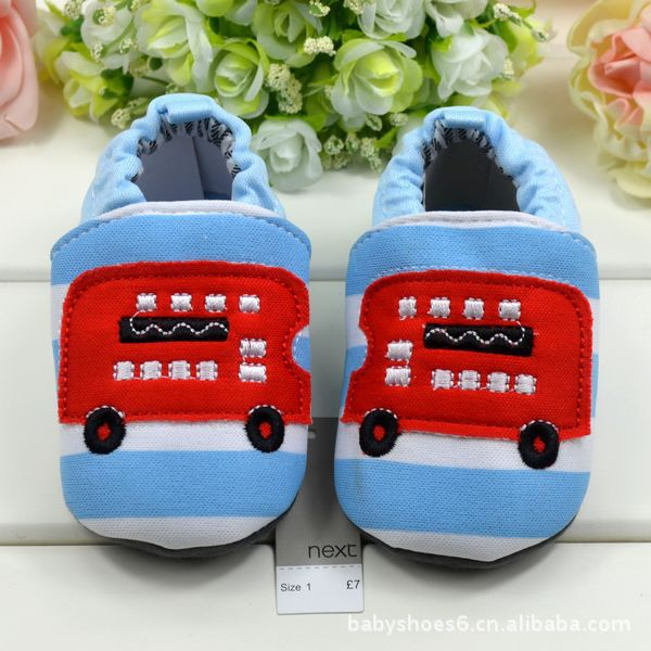Cute baby first walkers/Soft bottom baby boys shoes/2014 new baby prewalkers(China (Mainland))