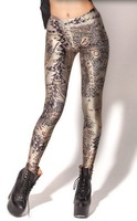 Monkey King 2014 NEW woman's Middlle Earth Map Leggings brand clothes digital printed pants black milk fashion HOT!!