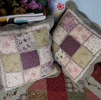Handmade patchwork 701 full cotton fabric car sofa pillow cover cushion cover