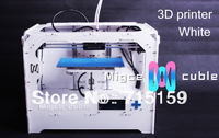 3d printer maker bot replicatorg reprap acrylic spare parts set double extruder for DIY un-assembled set