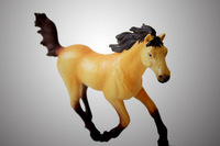 Free shipping* Bilp solid toys wild animal model child decoration toy horse