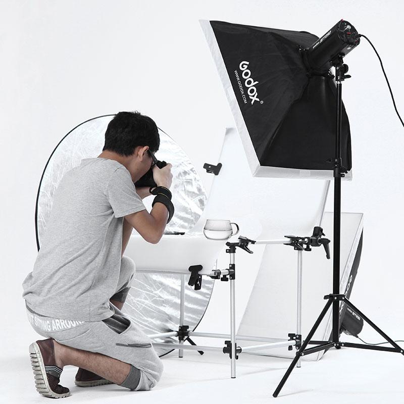 godox photography light set studio flash softbox clothes photographic equipment light bulb(China (Mainland))