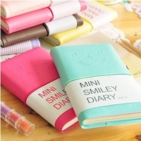 Stationery notebook querysystem candy color smiley notepad tsmip 8