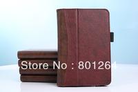 "Wholesale 100pcs/lot wallet card smart leather cover case for New Amazon kindle fire HD 2nd 7"" 100pcs/lot"