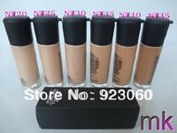 2Pcs New Brand makeup liquid Foundation Studio fix fluid SPF 15 Foundation have 6 color optional (NW20..NW45)+Free HK Post