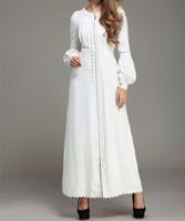 2014 White Islamic TURKISH Women's JILBAB , Coat