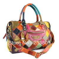 NEW 2014  women leather handbags channel bags women handbag women messenger bags shoulder bags desigual brand