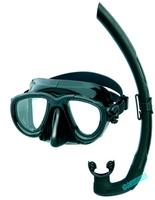 Tana mares snorkeling set mirror breathing tube small volume