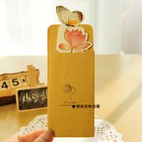 10 Pcs 13.5x5.6cm Paper Mate Post Card Bookmark Set Perfect Gift