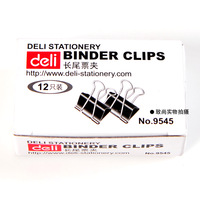 12 Pcs Office School Steel Wire Blind Clips,Blinding Stationery