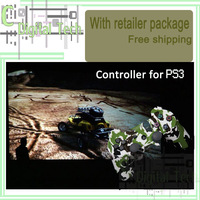 Free Shipping camouflage wireless controller gamepad bluetooth vibration game joystick for Laptop PS3 Camouflaged City pack
