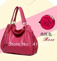 New 2014 Handbags Fashion Vintage Genuine  Leather Women Handbag Totes Women Messenger Bag Shoulder Bag free shipping p54