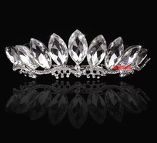 2014 new arrive fashion big drop crystal hair accessories / bride hair jewelry / marriage hair pin