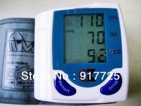 Digital wrist sphygmomanometer High precision systolic blood pressure diastolic blood pressure pulse rate Digital LCD display