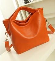 2014 new women leather handbags fashion women messenger bags genuine leather handbag designer bags vintage bag free shipping p51