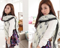 2014 Korean winter long section of Twinkle Little Miss crown Voile scarf shawl scarves long factory wholesale travel