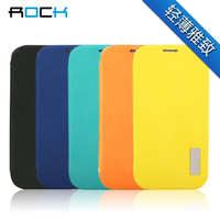 Rock  for SAMSUNG   i9500 holsteins galaxy s4 mobile phone case ultra-thin protective case i9500 phone case