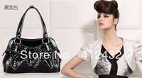 2014 new women leather handbags fashion women messenger bags genuine leather handbag designer bags vintage bag free shipping p52