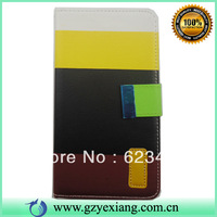 New arrival  flip leather case for note3 high quality PU leather phone cover