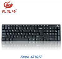HKPOST Waterproof wired keyboards desktop & laptop mini USB wired keyboards computer peripherals
