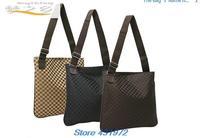 women & men's briefcase bags business lattice casual & Business shoulder bag 3COLOR briefcase men free shipping