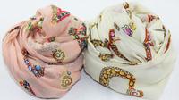 2013 fashion  new  models Korean velvet chiffon designer scarf soft towel drying air conditioner diamond letters wrap scarves