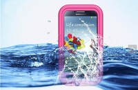 New Arrival For Samsung Galaxy S4 i9500 Waterproof Case,Life Shock proof Case, Retail Packaging