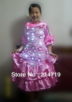 LED Costume LED Clothing Light suits female led skirt girl luminous led clothes light
