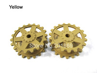 Heng Long 3858/59-1 German Panzer IV F/F2 tank plastic sprockets/driving wheels of 1:16 1/16 rc tank, tank plastic parts spare