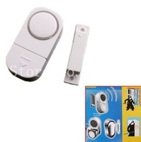 1 pcs Magnetic sensor Window Door Entry Alarm Safety Anti-theft Doorbell freeshipping, dropshipping