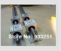Linear bearing slide SBR16-200/300/450mm  (6 supported rails+12blocks)