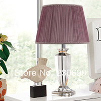 2014 new fashion of modern romantic bedroom bedside lamp crystal lamp style wedding world free shipping