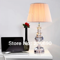 2014 new bedroom lamp bedside lamp modern minimalist fashion luxury European style living room crystal table lamp