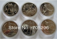 *New design* Russia Barcelona 1992 Olympic Replica coin Free shipping 6pcs/set Sampel order  free shipping