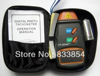 10Pcs/Lot Professional Digital Laser Tachometer Photo Non Contact Tach Tester Handheld dropshipping 205