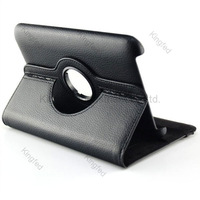 100 pcs/lot 360 Degrees Rotation PU Leather  Stand Protection Cover Case for Samsung Galaxy Tab 2 7.0 P3100