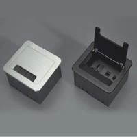 Desktop socket,hotel socket, socket panel,Brush clamshell desktop socket