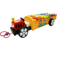 Serinette tractor violin hand knocking piano 3 child educational toys musical instrument