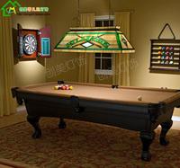 American Wind Gedifuni pool table lamps glass chandelier fashion classic rectangular restaurant Villa Lighting