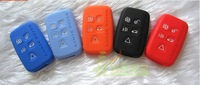 Orange Silicone Case Shell for land rover key case Land Range Rover Sport/Evoque Remote Smart Key