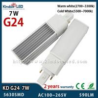 7W LED G24 220v Corn light 14 LEDs E27 G24 G23 110v 220v 230v 240v High Power G24 led bombillas
