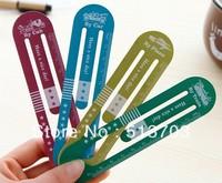 Time Travel Bookmarks With 10cm Scale Aluminium Ruler Japan Korea Children Student Gift