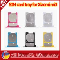 In Stock! High Quality 100% Original Micro SIM Card Tray slot for xiaomi m3 mi3 m3s, Free Shipping