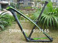 Special 2014 ! Free Shipping ! Cube Reaction GTC 29er Mountain carbon frame Green/Grey/Black