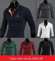Mens Casual Premium Slim FIT Stylish Long Sleeves Shirts Tops TEE T Shirt
