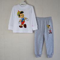 new 2014 1piece Retail 100% cotton Sizes: 2T - 3T - 4T - 5T - 6T - 7T baby sport suit costumes for children brand children