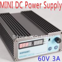 Free shipping precision Compact Digital Adjustable MINI DC Power Supply OVP/OCP/OTP low power 60V3A 110V-230V 0.01V/0.01A