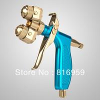 Freeshipping high quality dual head spray gun