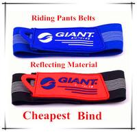 Bicycle Reflective material Pants hem belt Bike riding Leg bind Pants hem elastic cord  bicycle accessories 10g